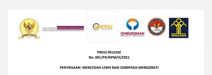 PRESS RELEASE No. 001/PR/NPM/II/2021